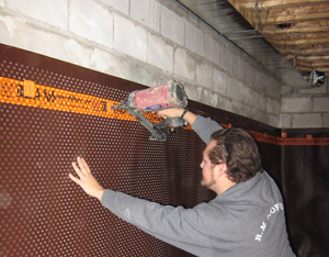 Waterproofing Internal When Doing Interior Basement Waterproofing We First  ...